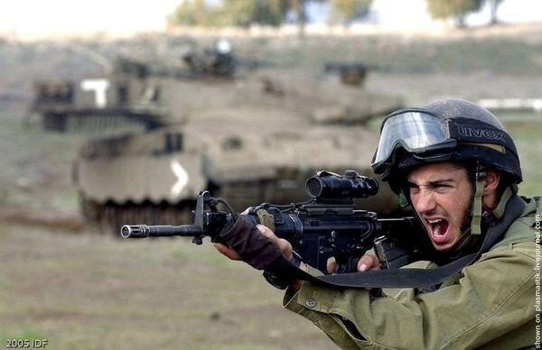 Израильские вояки (31 фото)