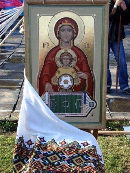 Футбольная икона (9 фото)