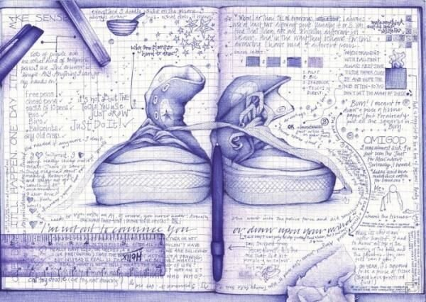 Рисунки ручкой (8 фото)