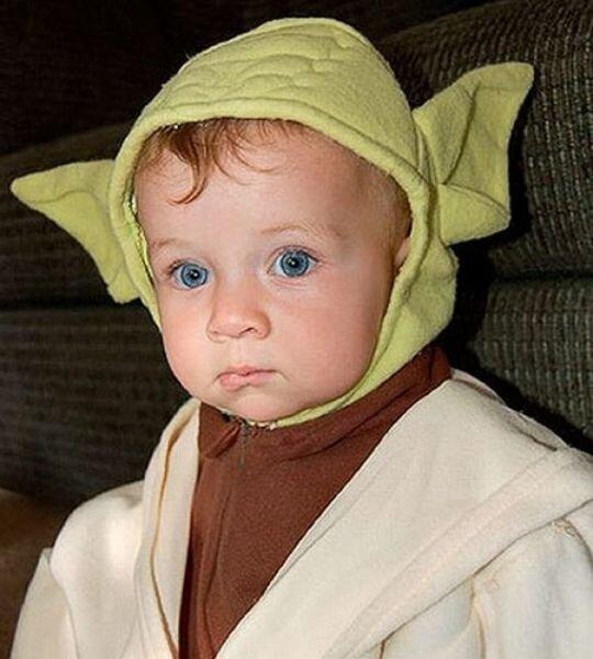 Дети в костюмах Звёздных войн (17 фото)
