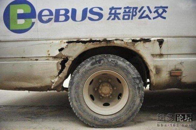 Китайский общественный транспорт (4 фото)