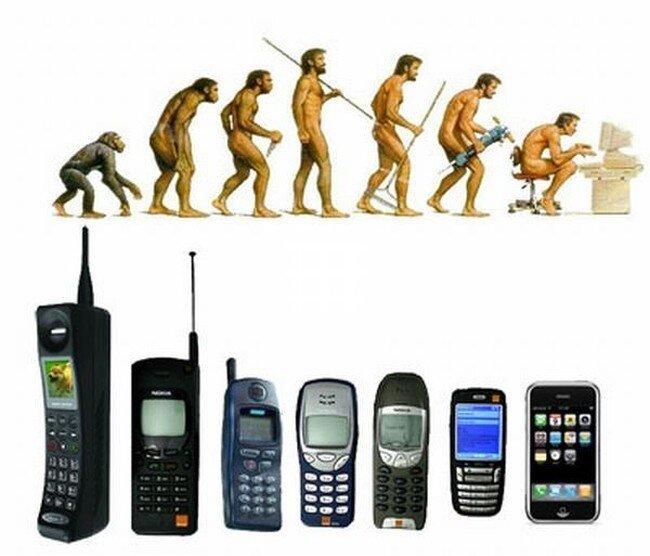 Эволюция человечества и не только  (47 фото)