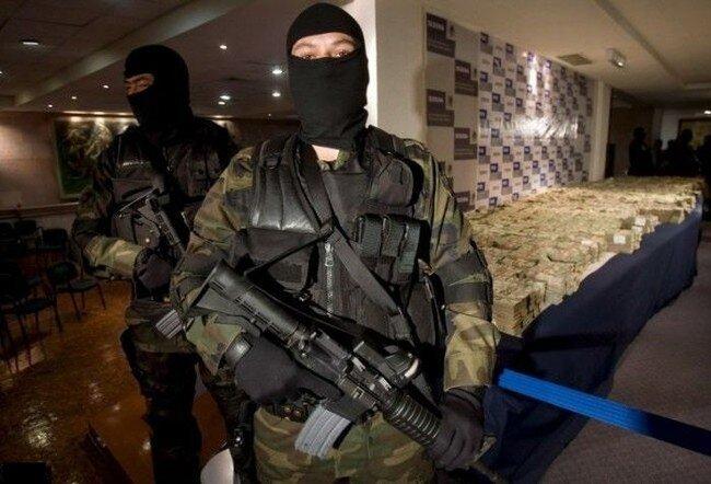 Конфискация собственности мексиканских наркобаронов (32 фото)