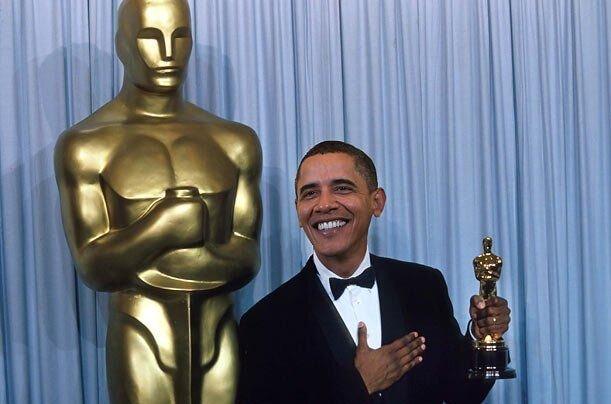 Награды Обамы (фейк конечно , но чем лучше нобелевская ? :) ) (4 фото)