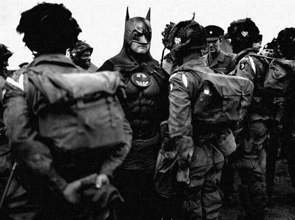 Супергерои на войне (7 фото)