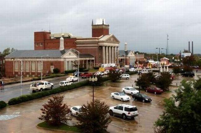 Обрушение церковного купола (24 фото)