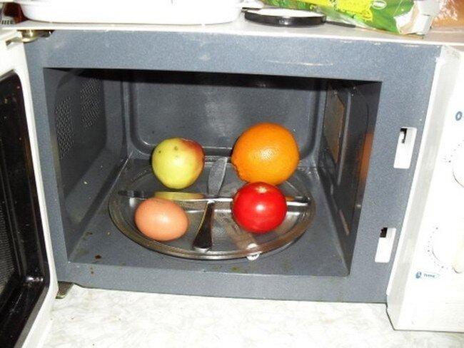 Приготовление яйца в микроволновке (12 фото)