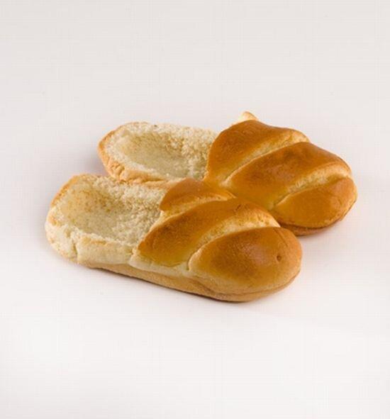 Хлебные тапочки (15 фото)