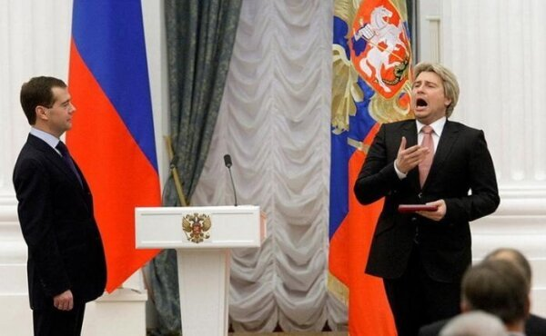 Фотожаба Медведева и Баскова (50 фото)