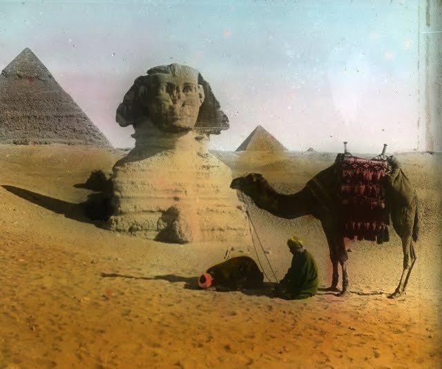 Египет в старинных фотографиях (30 фото)