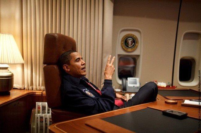 Самолет Обамы (25 фото)
