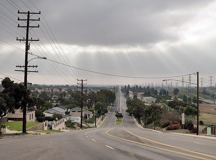 Пустой Лос-Анжелес (29 фото)