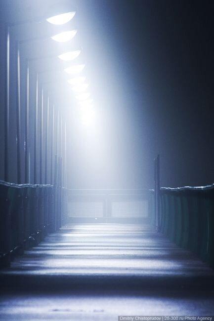 Туманный город (28 фото)