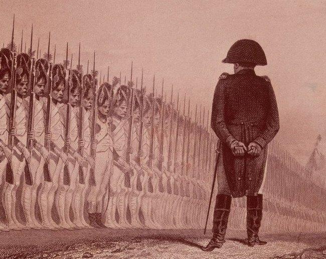 Фотожаба Наполеона и полка гренадеров (53 фото)