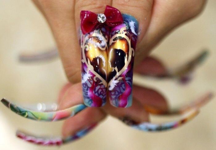 Выствка ногтей в Токио (12 фото)