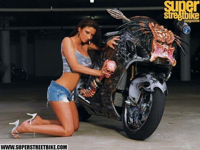 Мотоцикл Хищника (13 фото)