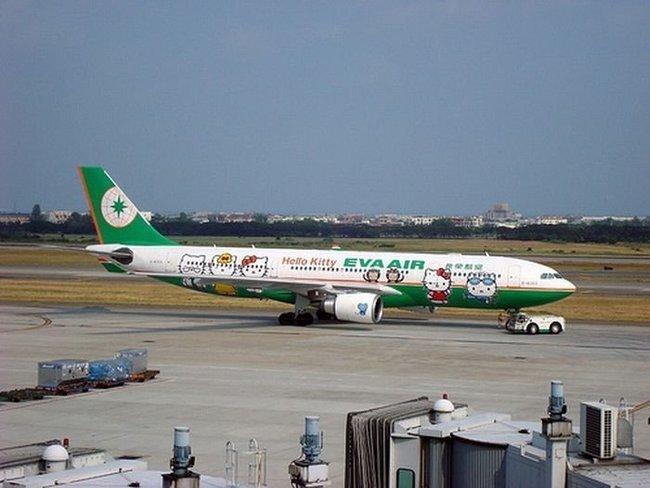 "Самолет ""Hello Kitty"" (9 фото)"