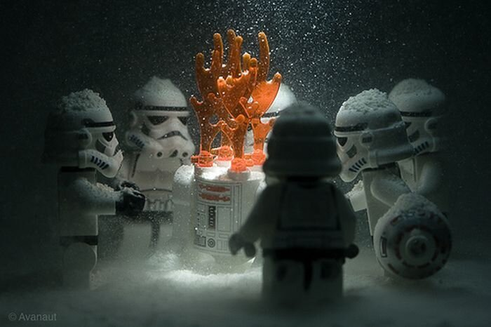 Зима в звёздных войнах (10 фото)