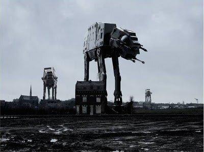Звёздные войны в городе (27 фото)