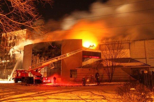 Пожар в Рязани (11 фото)