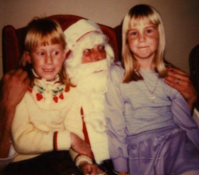 Страшные Санта-Клаусы (8 фото)