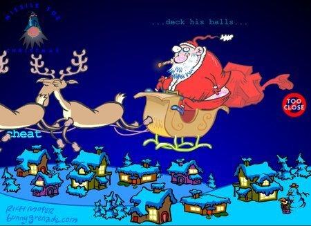 Охота на деда Мороза