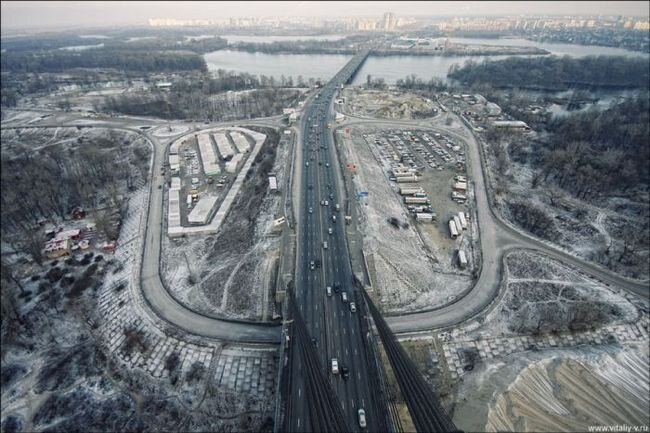 Московский Мост в Киеве – Удивительные Фотографии (19 фото)