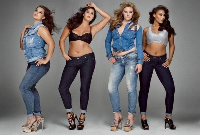 Полные модели в журнале V magazine (9 фото)