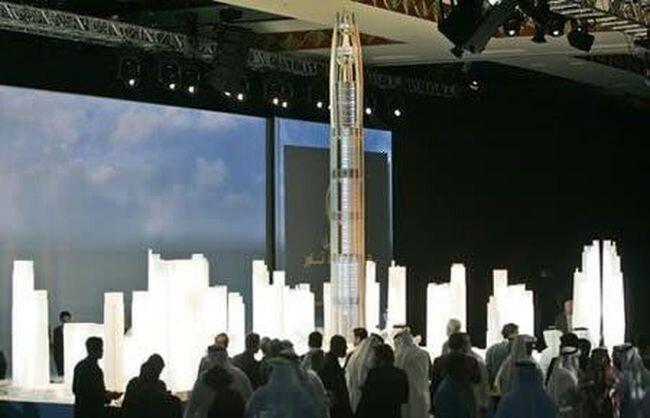 Новая башня в Эмиратах (8 фотографий)