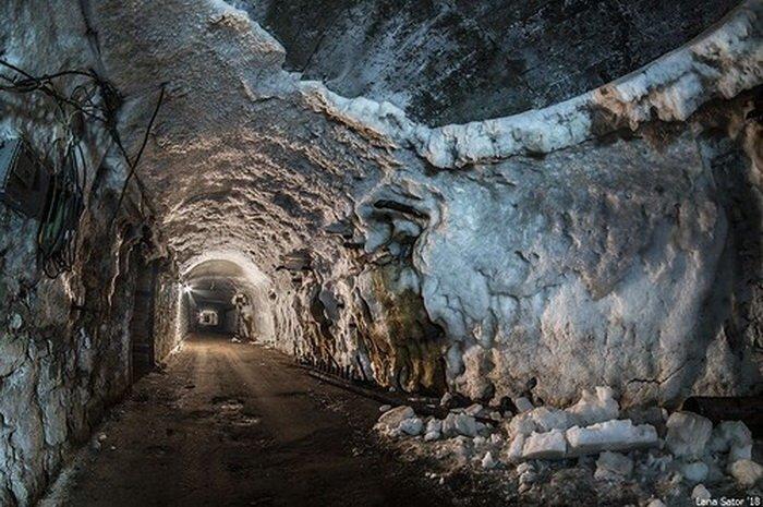 Самарский подземный холодильник. Красноглинский хладокомбинат