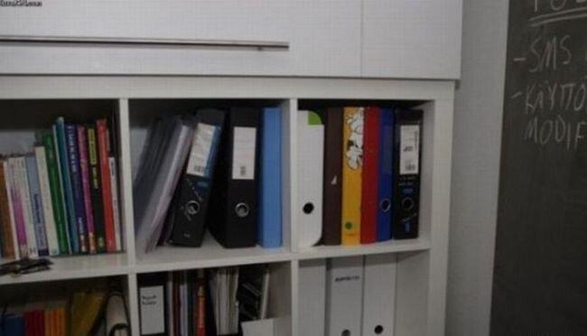 Потайное место, офисный вариант (2 фото)
