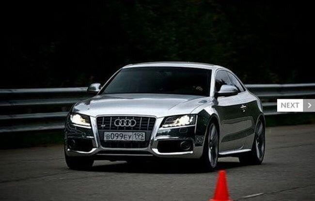 Audi S5 на фоне девушки или наоборот? (9 фото+ видео)