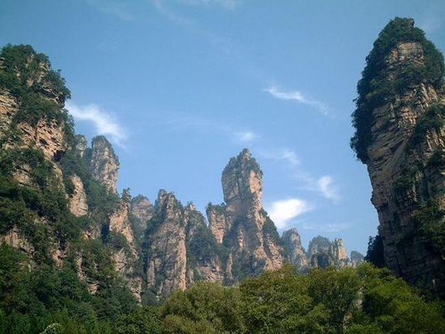 Горы Улинъюань и Национальный парк Чжанцзяцзе Китай (17 фото+видео)
