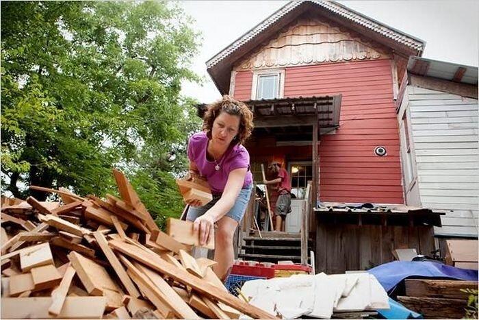Переработанный дом (15 фото)