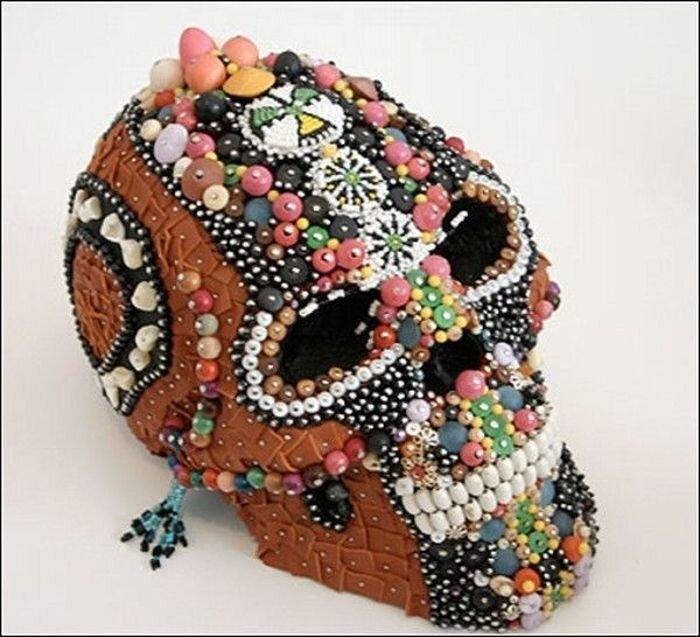 Гламурные черепa (19 фото)