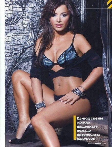 Ани Лорак в фотосессии для журнала MAXIM (6 фото)