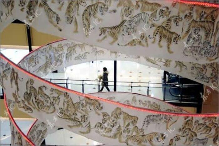 Свиток к году тигра в Китае (10 фото)