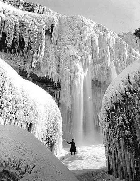 Ниагарский водопад 1911 (5 фото)