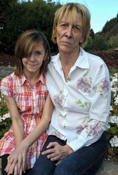 13-летняя девочка получила в наследство... старость (7 фото)