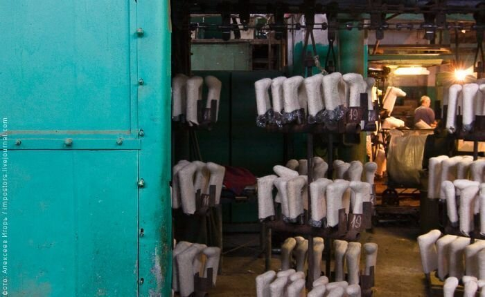 Производство валенок (43 фото)