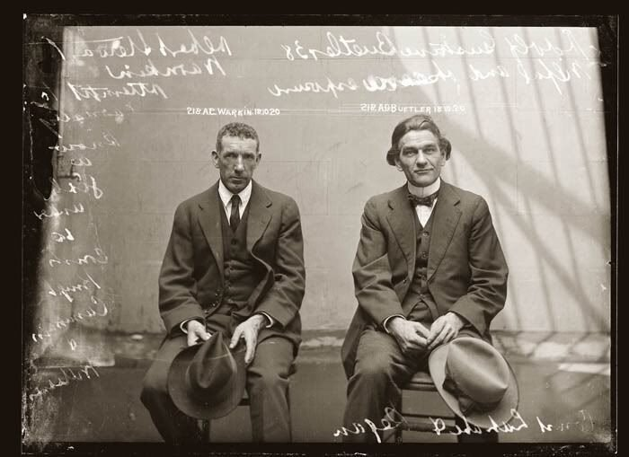 Ретро фото - Преступники Прошлых столетий (32 фото)