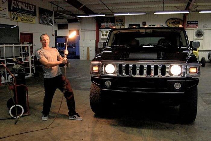Hummer превратился в карету (10 фото+видео) за 10 февраля 2010
