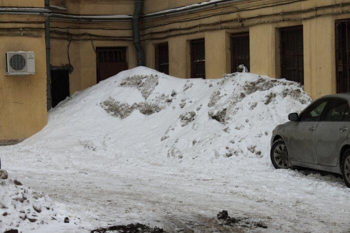 Снег в Питере (5 фото)