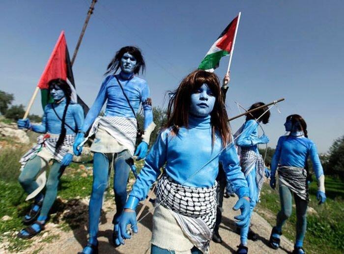 """Палестинские """"Аватары"""" (13 фото+видео )"""