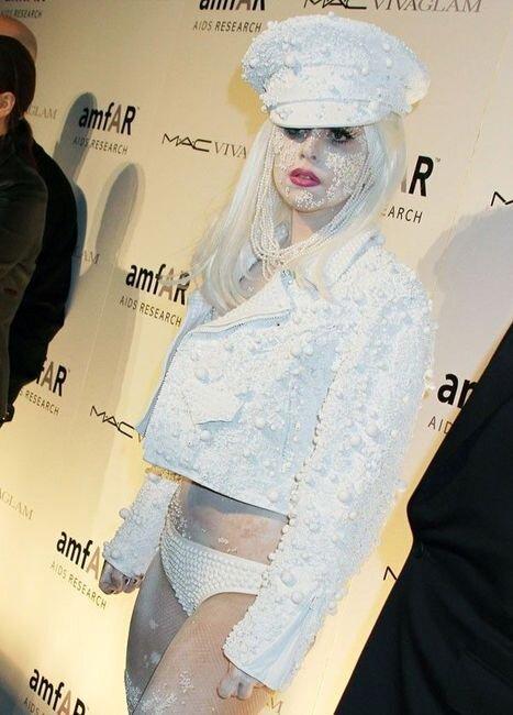 Что с лицом у Lady Gaga (4 фото)