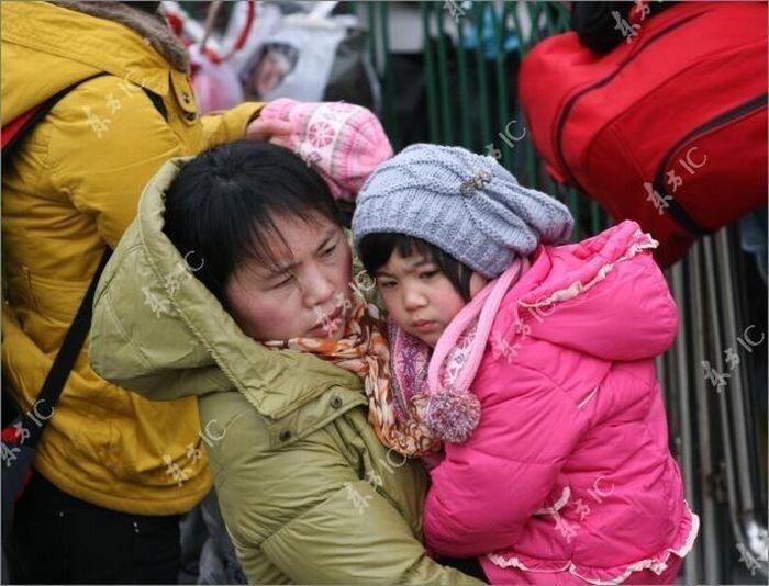 Китай собирается в отпуск (24 фото)