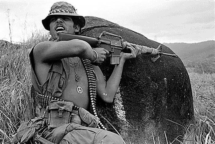 Война во Вьетнаме в фотографиях (19 фото)