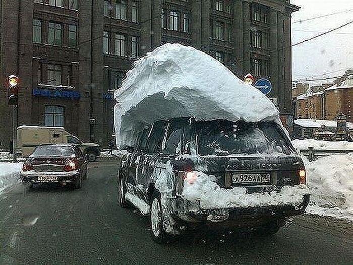 Царство снега (46 фото)