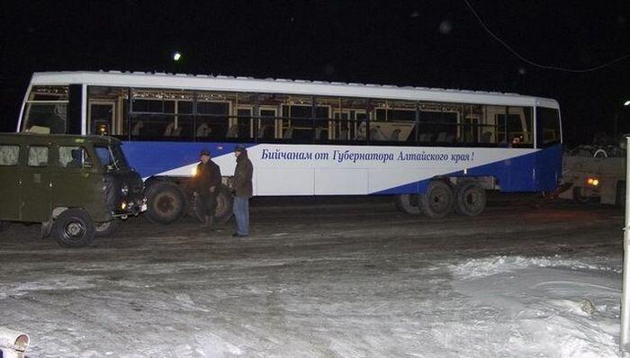 Альтернативное передвижение трамвая (7 фото)