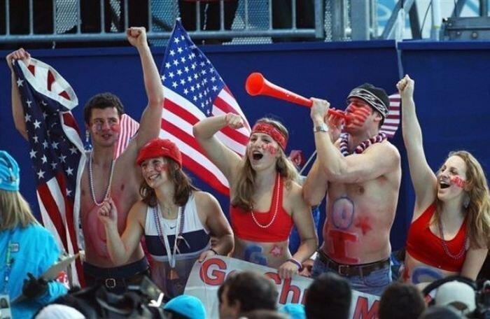Олимпийские фанаты (37 фото)